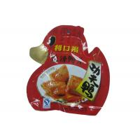 China Custom Laminated Die Cut Snack Food Packaging Bags Stand Up With Reclosable Spout wholesale