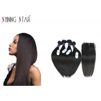 China 100 Brazilian Unprocessed Remy Hair Extensions No Animal And Synthetic Mixed wholesale