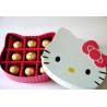 China Flavored Pleasure Plus Condoms Hello Kitty Box Snugger Fit Condoms wholesale