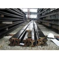 China 12m 12.5m Crane Rail Beam U71Mn 70 - 120mm Head Width Bearing 50 - 100 Tons wholesale