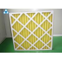 China Yellow Paper Pre Air Filter For Medium - Efficiency Filters Or Hepa Filters wholesale