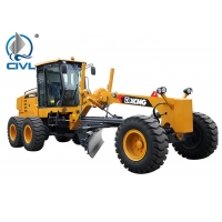 China Yellow CIVL Construction Motor Graders GR165 with D6114 Engine , 15000kg Payload wholesale