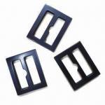 China 2.3cm Laser Shiny Plastic Buckles, Oeko-Tex 100/CPSIA Certified wholesale