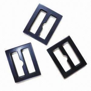 China hebillas plásticas brillantes del laser de los 2.3cm, Oeko-Tex 100/CPSIA certificado wholesale