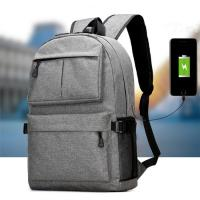 China Waterproof Oxford Men'S College Backpacks For Laptop  USB Charging Interface wholesale