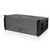 """China Dual 12"""" 8ohm black  Line Array  Speakers Active For  stage / pub wholesale"""