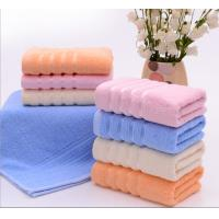 China Cheap modern dobby 450GSM cotton terry face towels for sale wholesale