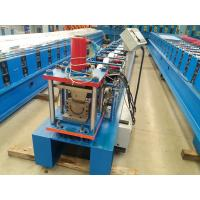 China 0.42mm Thickness Gutter Cold Roll Forming Machine With 5.5kw Power Full Automatic wholesale
