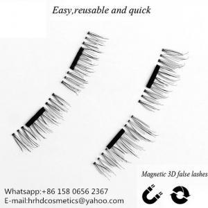 China Wholesale hard ultra-thin hand made magnetic faux mink eyelash wholesale