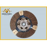 China ISUZU CYZ Clutch Disc 430*10 1312408921 Friction Facing Three Cooper-bases wholesale