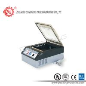 China Food Vacuum Packaging Machine Semi - Automatic Sealing Size 250 x 8mm wholesale