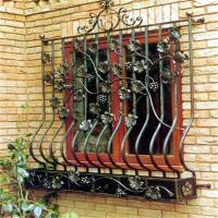 China cast wrought iron metal bar iron windows grills design wholesale