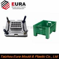 China manufactruing plastic beer bottle crates injection mould, beer box mold wholesale
