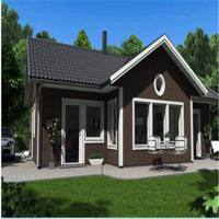 Fast Construction EPS Foam Cement Decorative Wall Panels House Over Water Bungalow