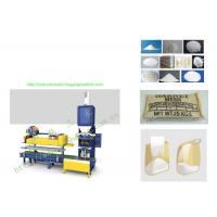 China Semi Automatic Open Mouth Weighing And Bagging Machine With Bag Flatteners / Sewing on sale