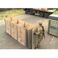 Buy cheap High Tensile Military  Hesco Barrier Welded Gabion Box Gabion Mesh Cage For Anti Flood from wholesalers