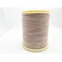 China 0.08mm * 250 USTC 2mm*1.3mm Stranded Copper Wire Silk Covered Litz Wire wholesale