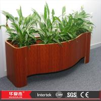 China Waterproof Wpc Flower Boxes , Pvc Composite Bed Flower Box UV protect on sale