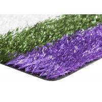 China Smooth Coloured Tennis Court Artificial Turf , Coloured Fake Grass UV Resistance wholesale