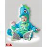 China Le bébé infantile de vert bleu costume l'hippocampe idiot 6084 pour la partie wholesale