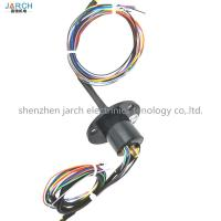 China Slip rings with SDI 75 ohm for Hd video and 8 cables for power 12v wholesale