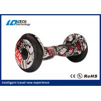 China Modern 10 Inch Off Road Hoverboard , Two Wheels Self Balancing Smart Electric Scooter wholesale