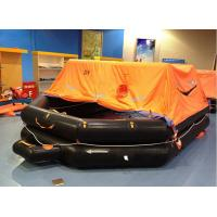 China MED/CCS/EC approved 35persons throw-overboard Inflatable life raft with cradle hot sales wholesale
