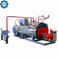 Buy cheap 1 - 25 T/H Capacity Industrial Gas Oil Fired Steam Boilers With Imported Burner from wholesalers