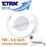 China Newest 3.5 inch 7W LED Downlight Ceiling Lights Recessed lights buried office lights on sale