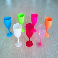 China unbreakable wine cups,plastic wine glasses on sale