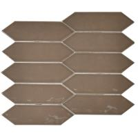 China Durable Glossy Porcelain Subway Wall Tile For Size 75x300 / 100x200mm on sale