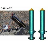 China Max 6 Stage One Way Hydraulic Oil Cylinder Telescopic Hinge axle Tipper Truck wholesale
