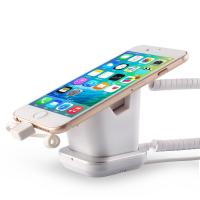 China COMER Security Anti-Lose Cell Phone Exhibit magnetic Stand with charging cable on sale