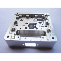 China Billet Aluminum Silver Anodized Clamps CNC Machining Parts, Billet Clamps on sale