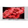 "China 42"" Smart Curved LED TV Full HD 1080P High Contrast Ratio 3000 / 1 , 70 Watt wholesale"