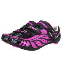 China Adjustable Buckle Ladies Cycle Touring Shoes , Girls Cycling Shoes OEM / ODM Accept wholesale