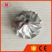 China CT26 43.20/58.00mm 6+6 blades high performance Turbo Billet/aluminum 2024/milling compressor wheel on sale