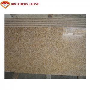 China Padang Giallo Yellow Granite Slabs High Polished G682 Granite Big Slab on sale
