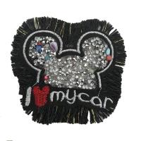 Buy cheap Delicate Rhinestone Applique Patches Large Size Any Shape Available from wholesalers