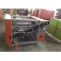 China Semi-auto Kitchen Aluminium Foil Rewinder Machine With Automatic Stop Switch wholesale