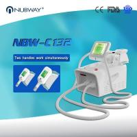 Beauty clinic used Coolsculpting body shape slimming machine  cryolipolysis fat freezing device with RF  cavitation