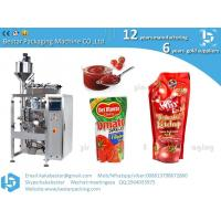 Factory Price Automatic Filling And Sealing Liquid Sauce Tomato Paste Ketchup Small Sachet Packing Machine