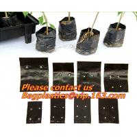 garden bags, grow bags, hanging plant bags, planters, LDPE plant, grow, nursery bags, Grow Bags Hydroponics Soil Garden