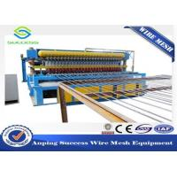 China Multi Function Wire Mesh Equipment , Reinforcing Bar Wire Mesh Weaving Machine on sale