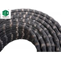 Brazed Diamond Wire Saw For Cutting Quarry Stones And Metals Customized Wires
