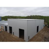Buy cheap High Rise Prefabricated Metal Frame Workshop Building Bolts Connection With from wholesalers