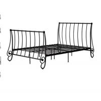 China Modern Atmosphere European style metal bed, double size with color customized on sale