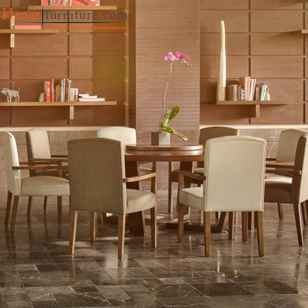 Quality Modenr Star Hotel Restaurant Chair and Table Dining Hall Furniture Manufacturer for sale