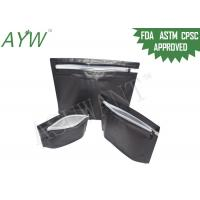 Buy cheap L / M Size Child Resistant Senior Friendly PackagingBags With Zip Lock from wholesalers