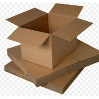 China Small Recycled Cardboard Storage Boxes With Lids UV Coating OEM Service wholesale